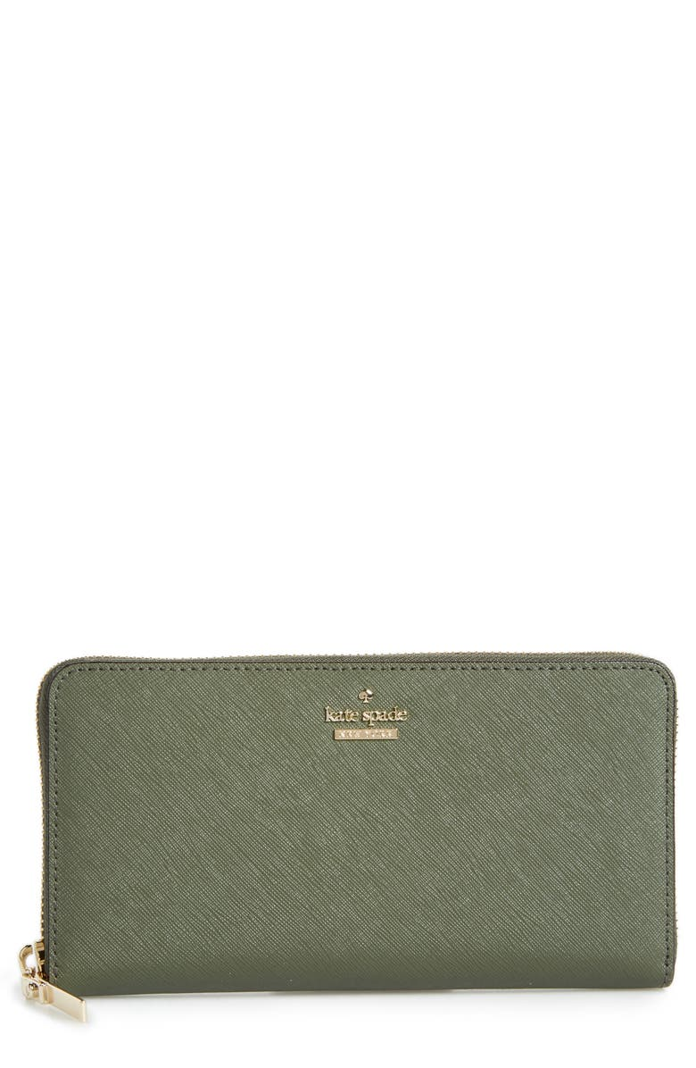 KATE SPADE NEW YORK 'cameron street - lacey' leather wallet, Main, color, 300