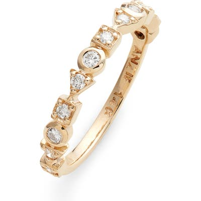 Anzie Cleo Diamond Eternity Band Ring