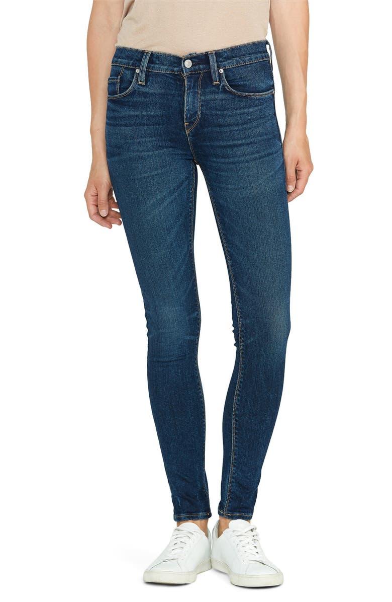 HUDSON JEANS Nico Super Skinny Jeans, Main, color, INTERLUDE