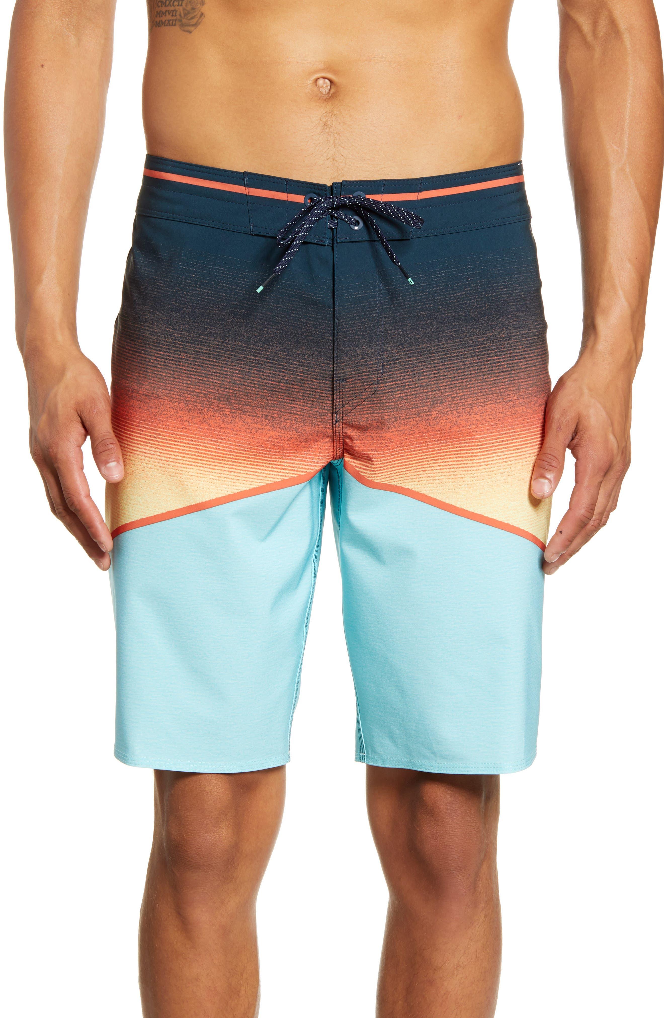 Billabong North Point Pro Board Shorts, Blue