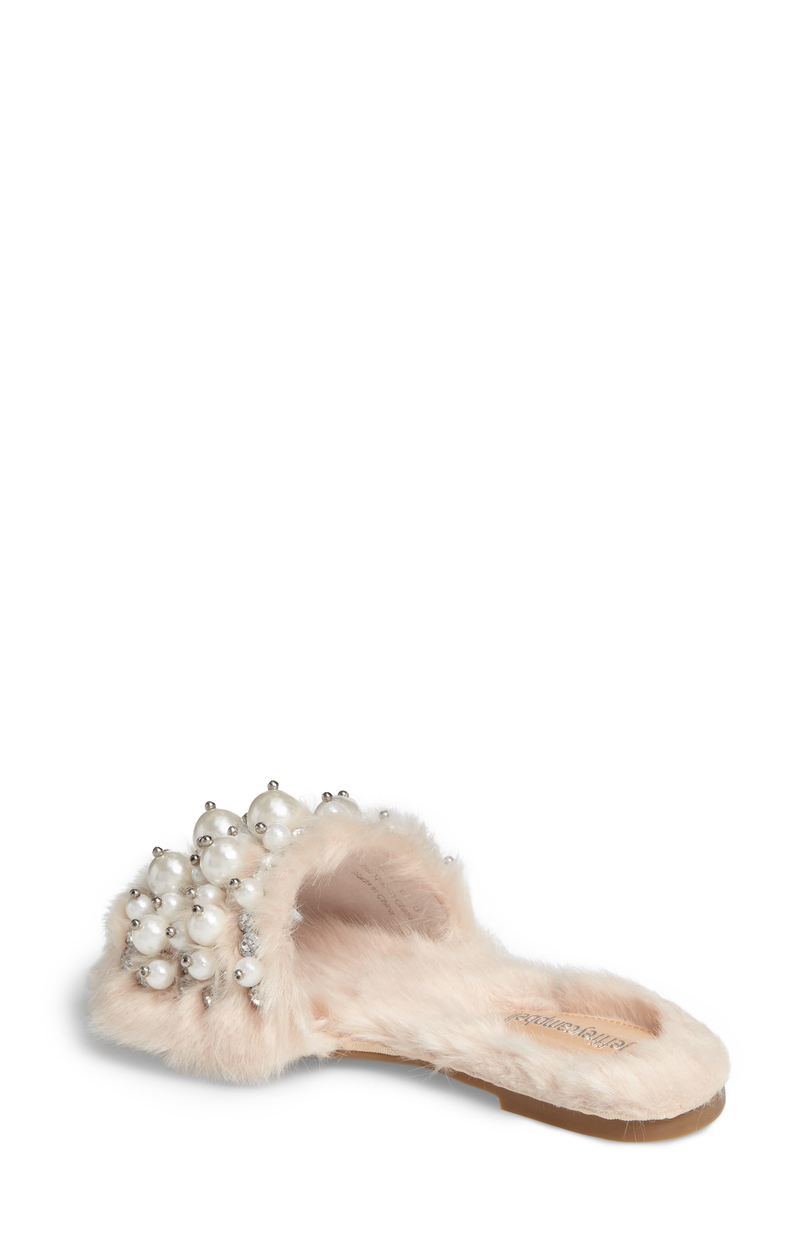 ,                             Facil Embellished Slide Sandal,                             Alternate thumbnail 8, color,                             287