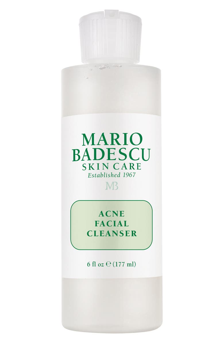MARIO BADESCU Acne Facial Cleanser, Main, color, NO COLOR