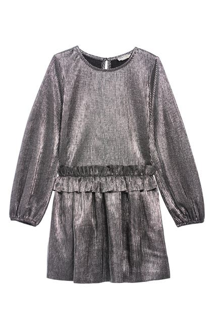 Image of Habitual COLLETTE METALLIC DRESS