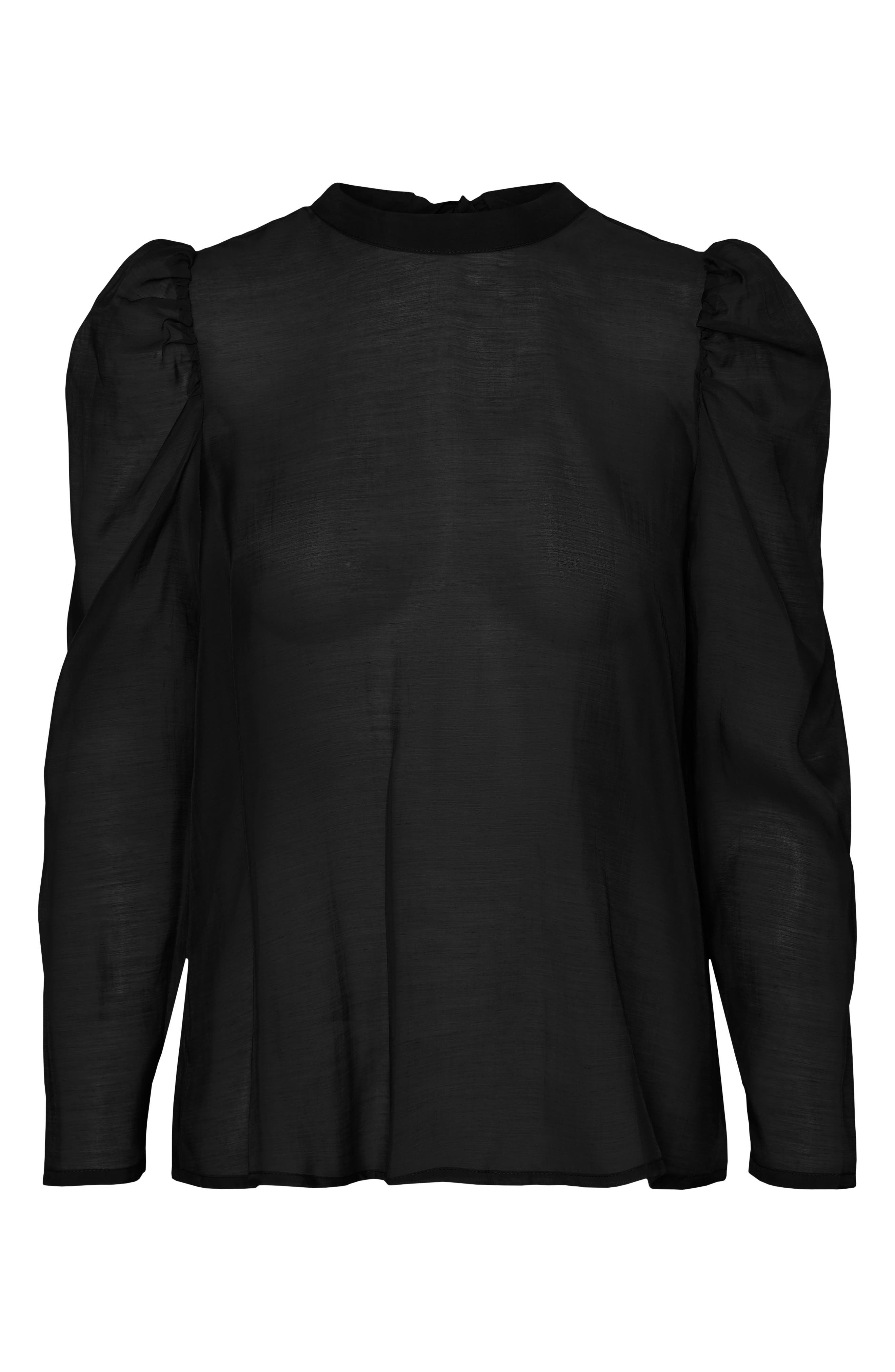 Image of AWARE BY VERO MODA Melonie Back Tie Blouse