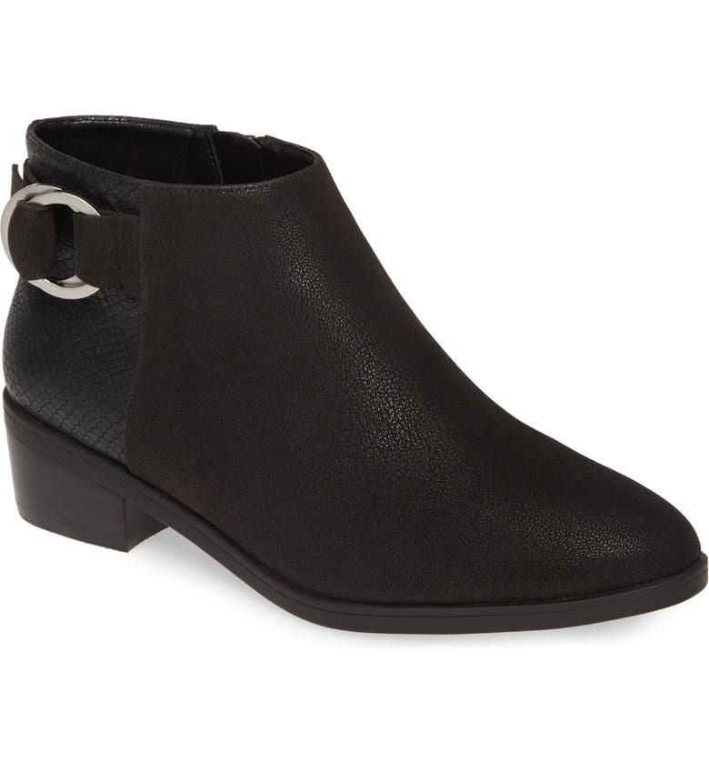 BELLA VITA Henley II Bootie, Main, color, SMOKE FAUX LEATHER