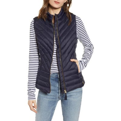 Joules Brindley Quilted Vest, US / 10 UK - Blue