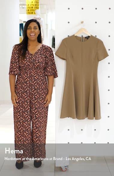 Paneled Fit & Flare Dress, sales video thumbnail