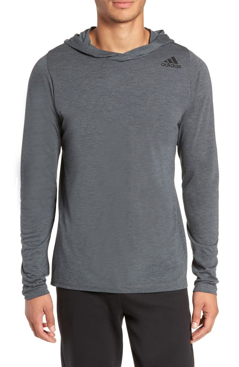 ADIDAS Technical Pullover Hoodie, Main, color, 022