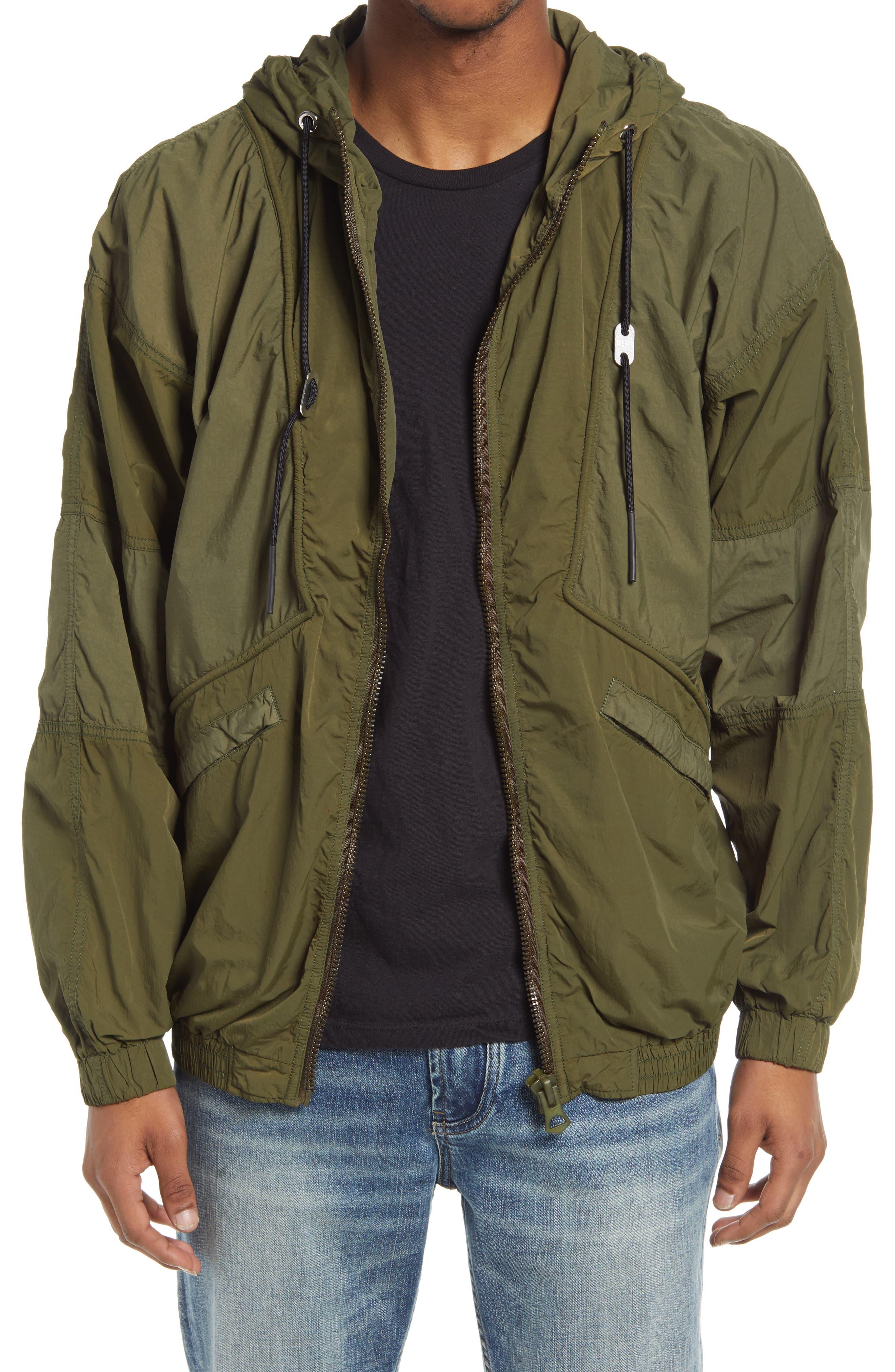 Men's Diesel Men's J-Packar Windbreaker Jacket