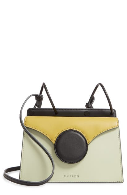 Danse Lente Bags MINI PHOEBE LEATHER BAG - GREEN
