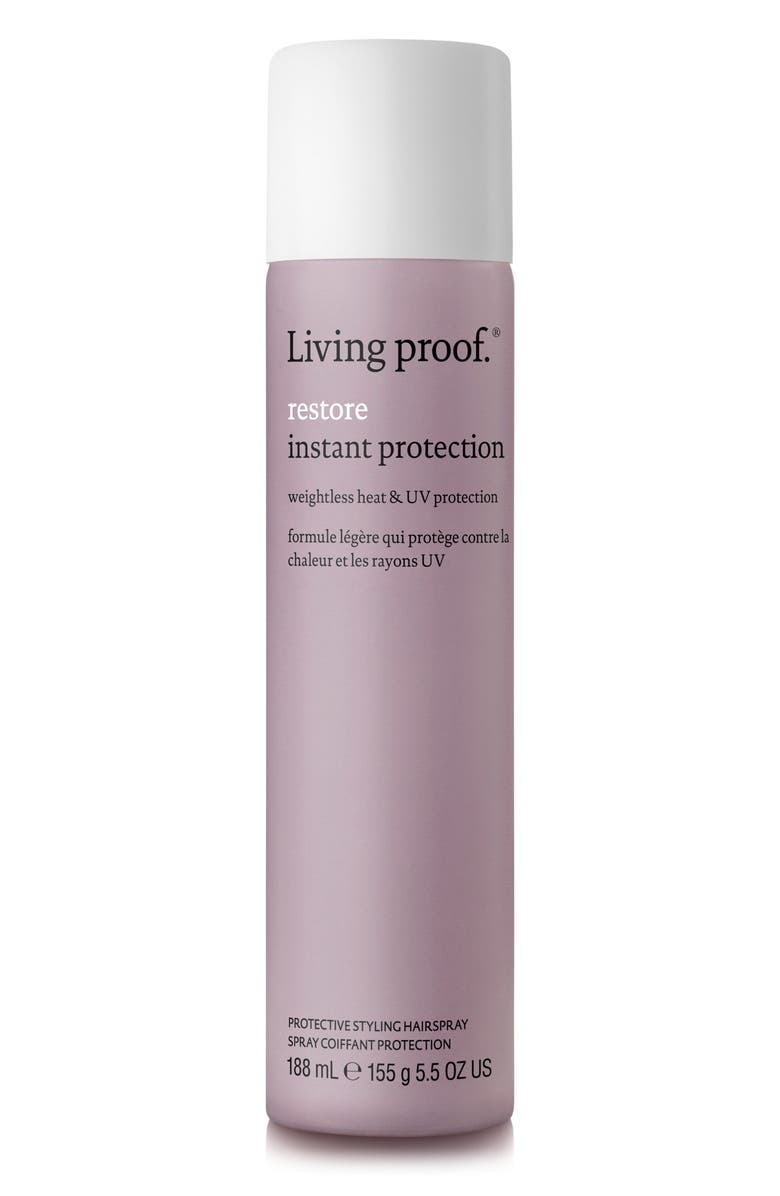 LIVING PROOF<SUP>®</SUP> Restore Instant Protection Protective Styling Hairspray, Main, color, NO COLOR