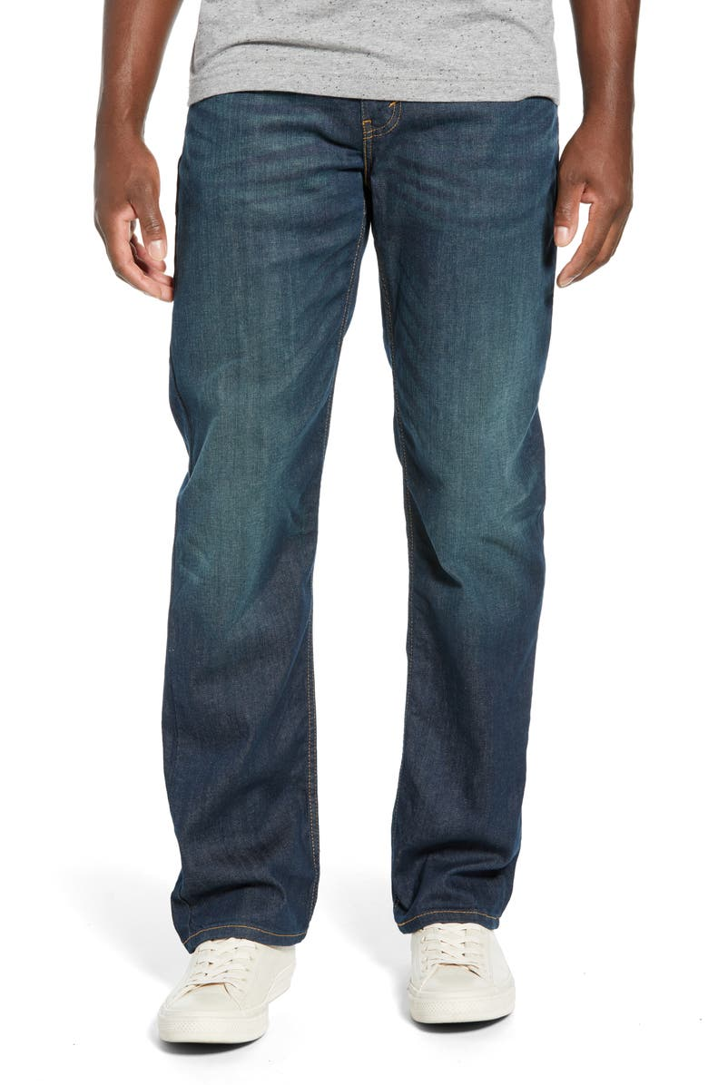 LEVI'S<SUP>®</SUP> 514<sup>™</sup> Straight Leg Jeans, Main, color, MIDNIGHT