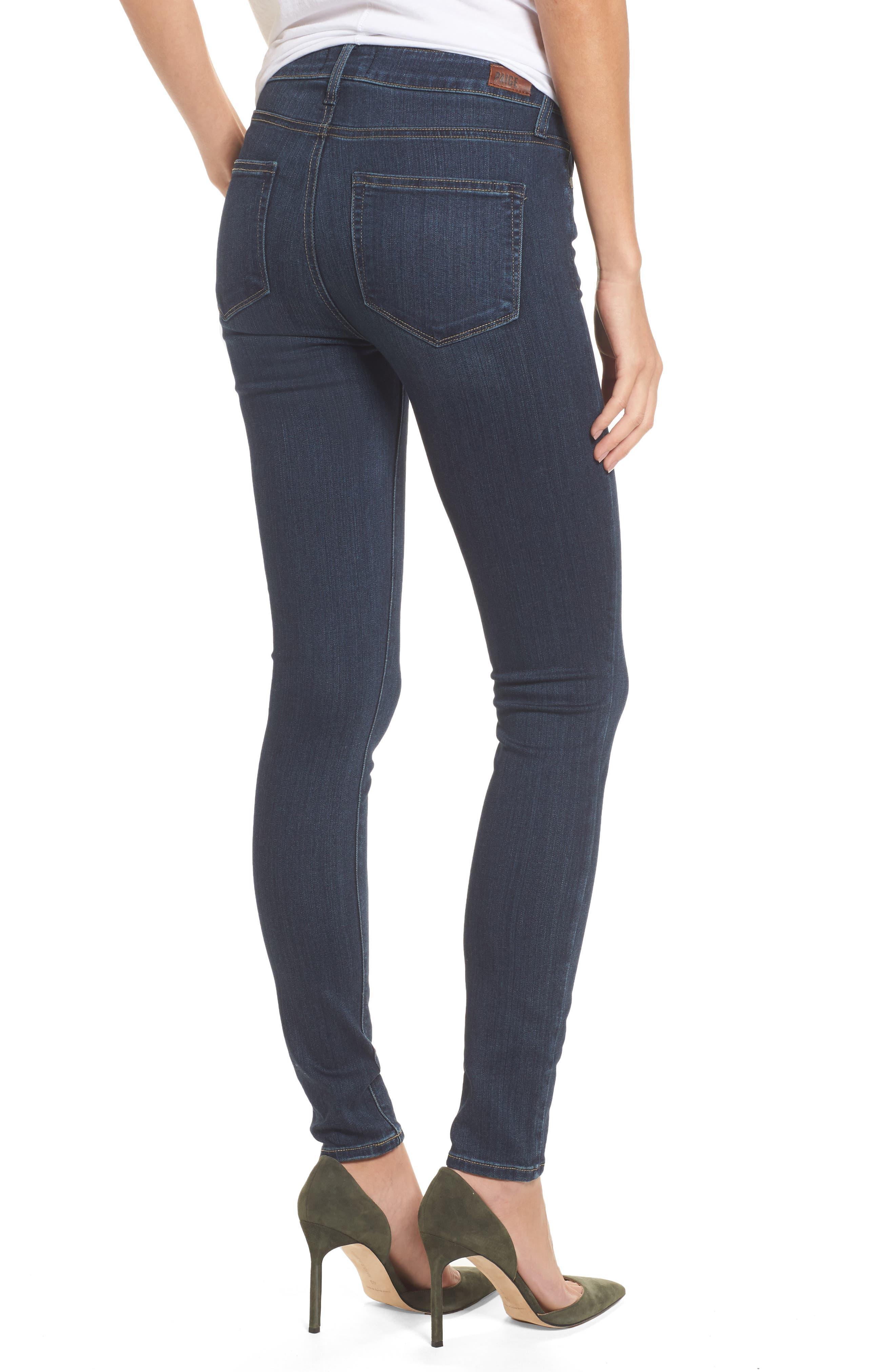 ,                             Transcend - Hoxton High Waist Ultra Skinny Jeans,                             Alternate thumbnail 4, color,                             400
