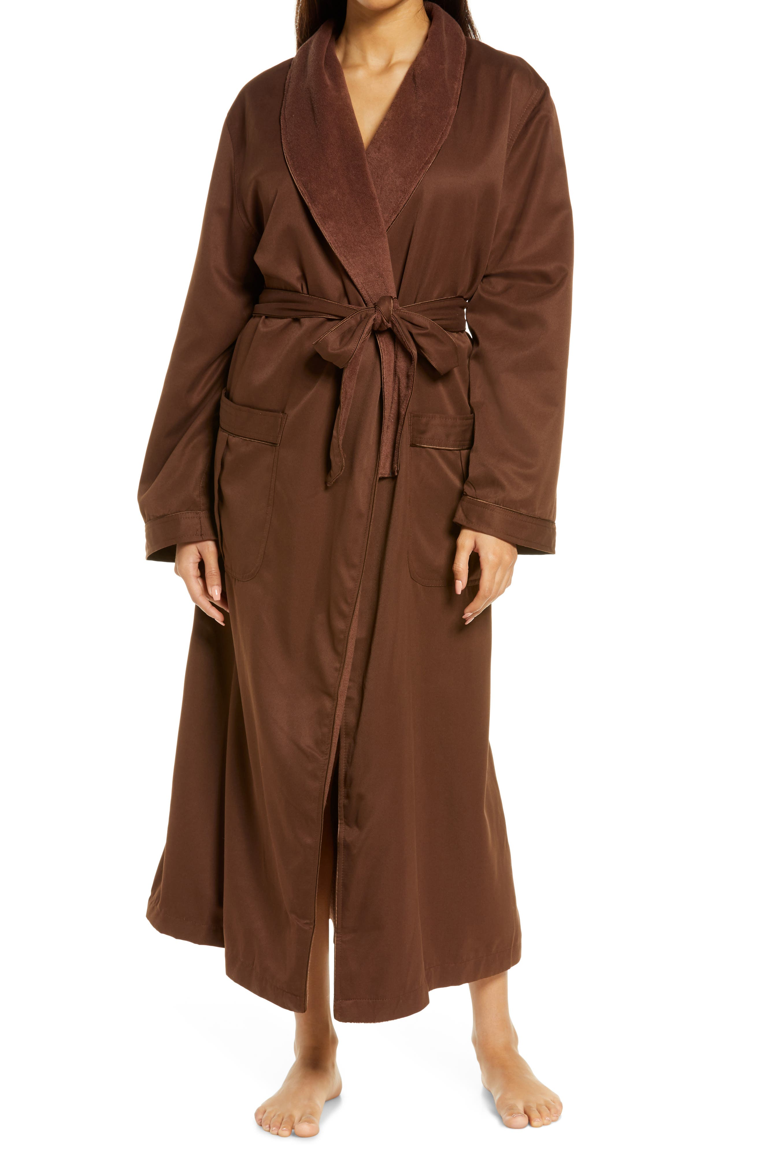Women's Sherbrooke Brushed Microfiber Robe