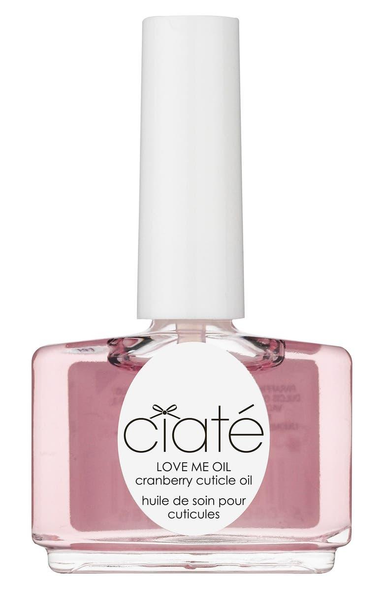 CIATÉ 'Love Me - Cranberry' Cuticle Oil, Main, color, 000