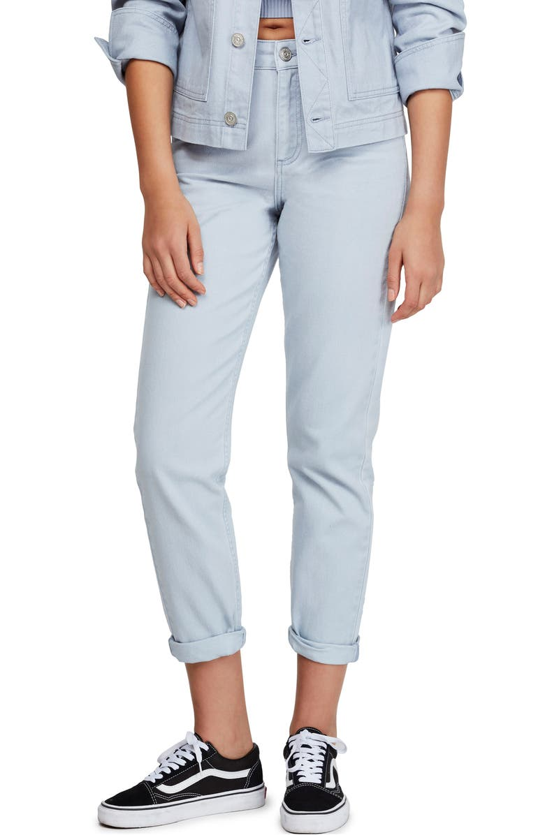 BDG Urban Outfitters Mom Jeans, Main, color, LIGHT BLUE