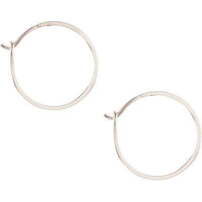 Kris Nations Small Hoop Earrings