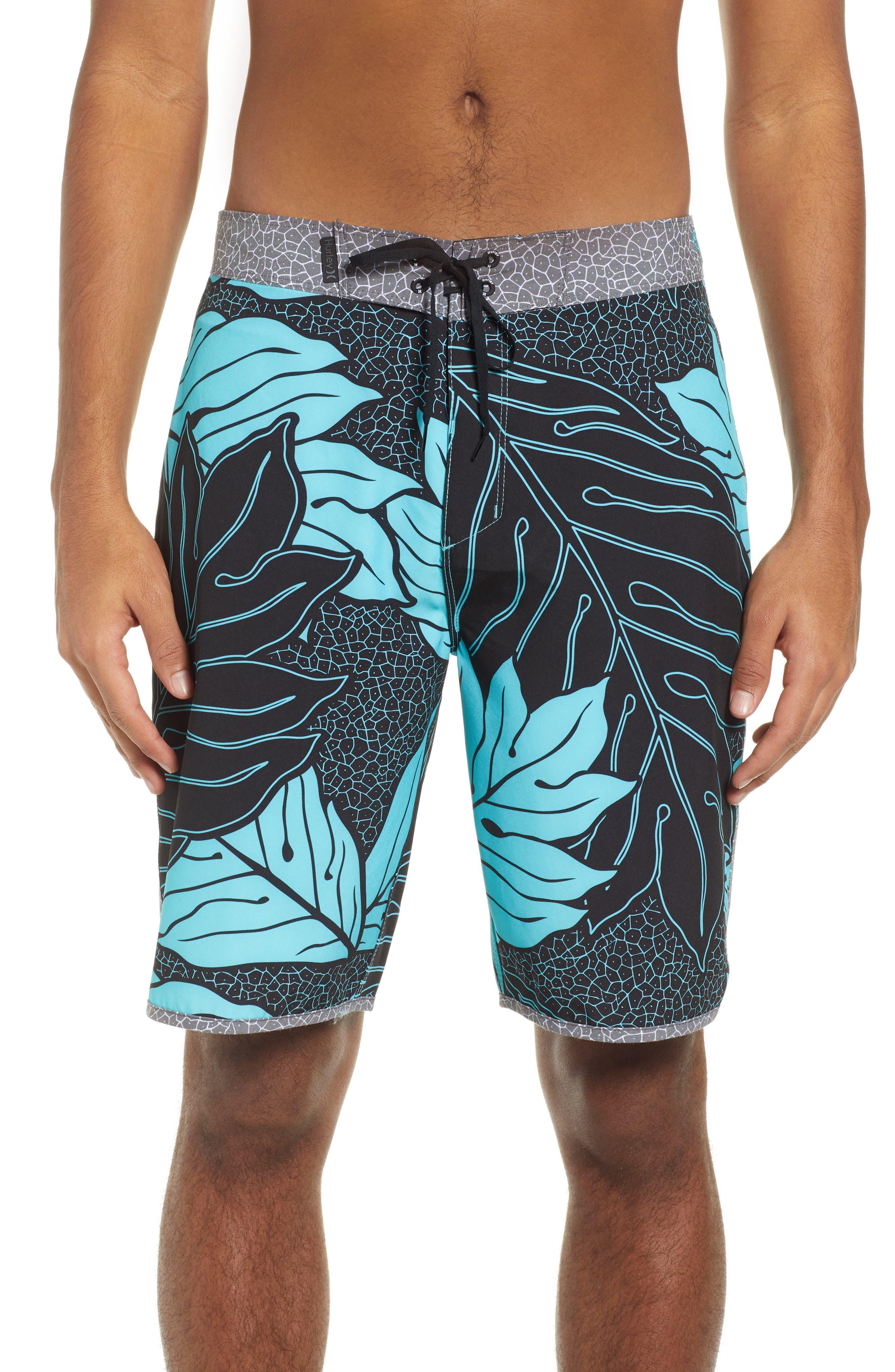 Hurley Phantom Sig Zane Board Shorts, Blue