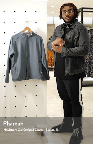 Crown Flex Fleece Bomber Jacket, sales video thumbnail