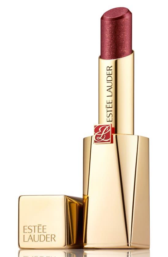 Estée Lauder Pure Color Desire Rouge Excess Creme Lipstick In No Angel-chrome