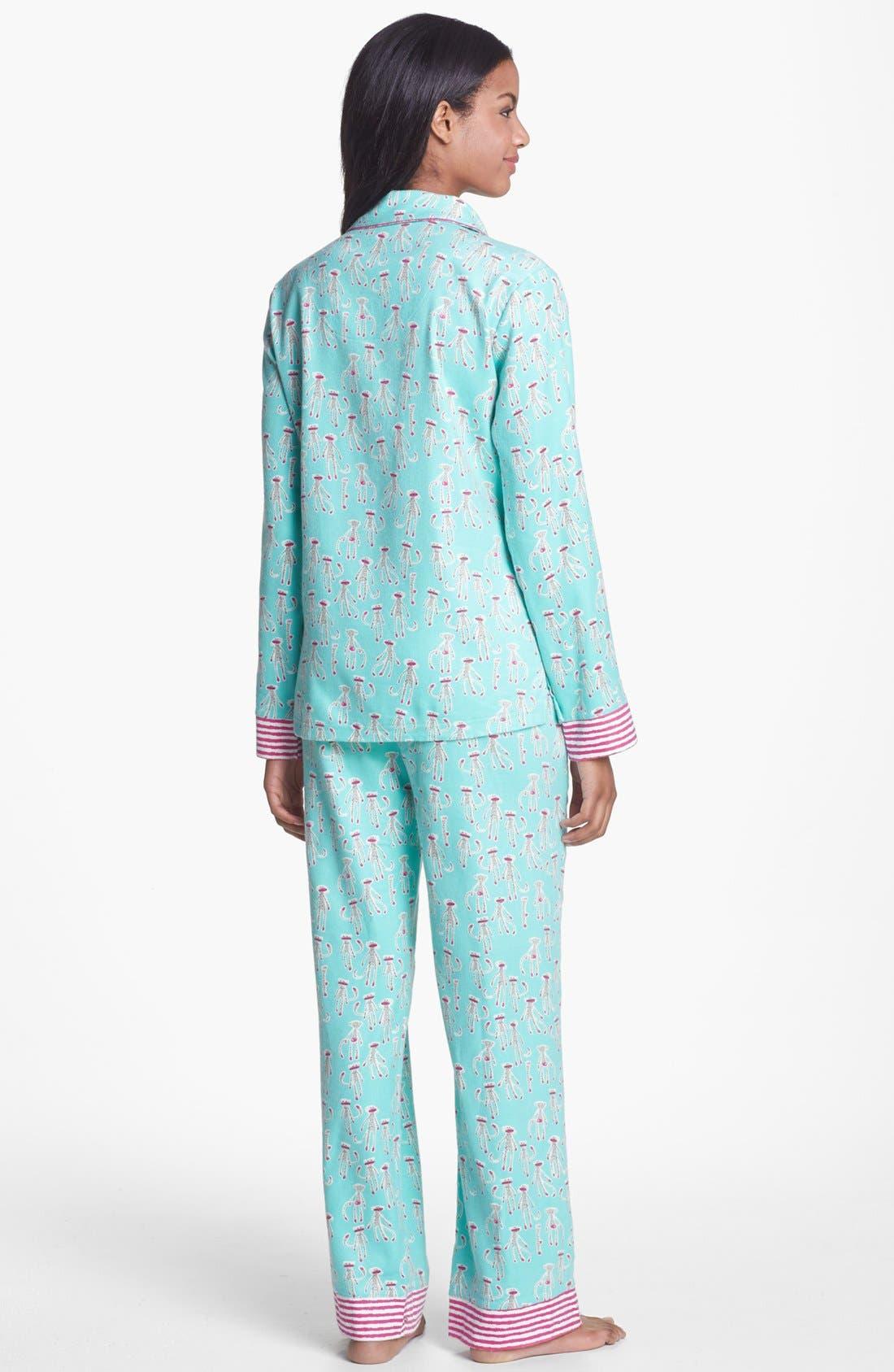 ,                             Flannel Pajamas,                             Alternate thumbnail 22, color,                             301