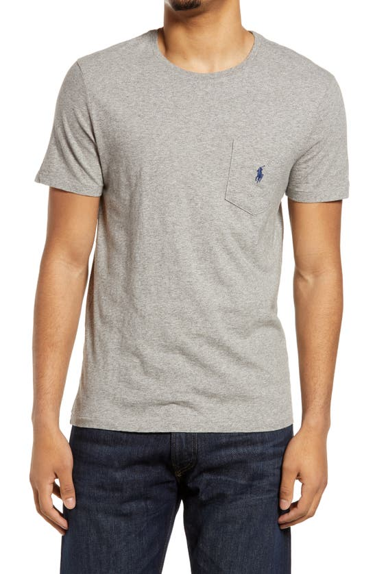 Polo Ralph Lauren EMBROIDERED PONY POCKET T-SHIRT
