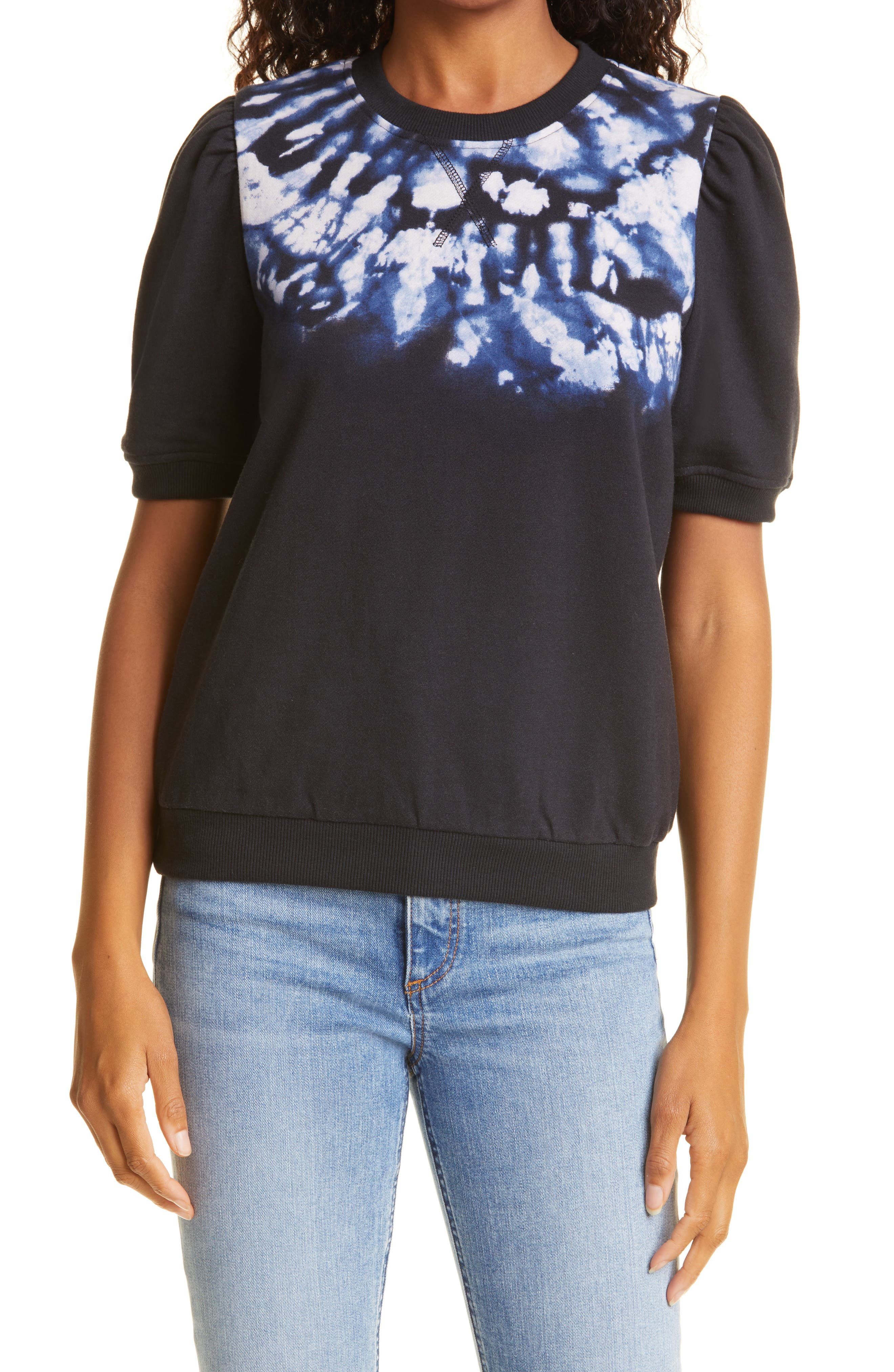 Navaeh Cotton Short Sleeve Sweatshirt