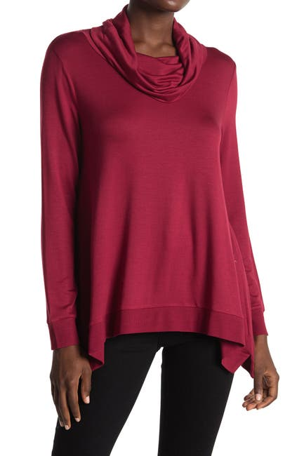 Image of ADY P Long Sleeve Cowl Neck Sweater