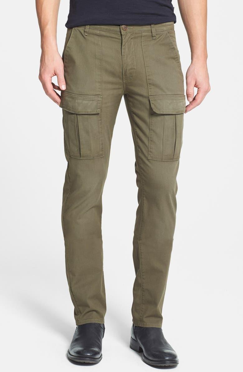 PAIGE 'Craft' Slim Fit Cargo Pants, Main, color, 300