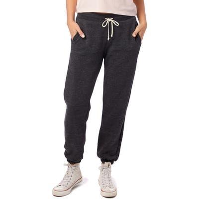 Alternative Classic Eco-Fleece Sweatpants, Black