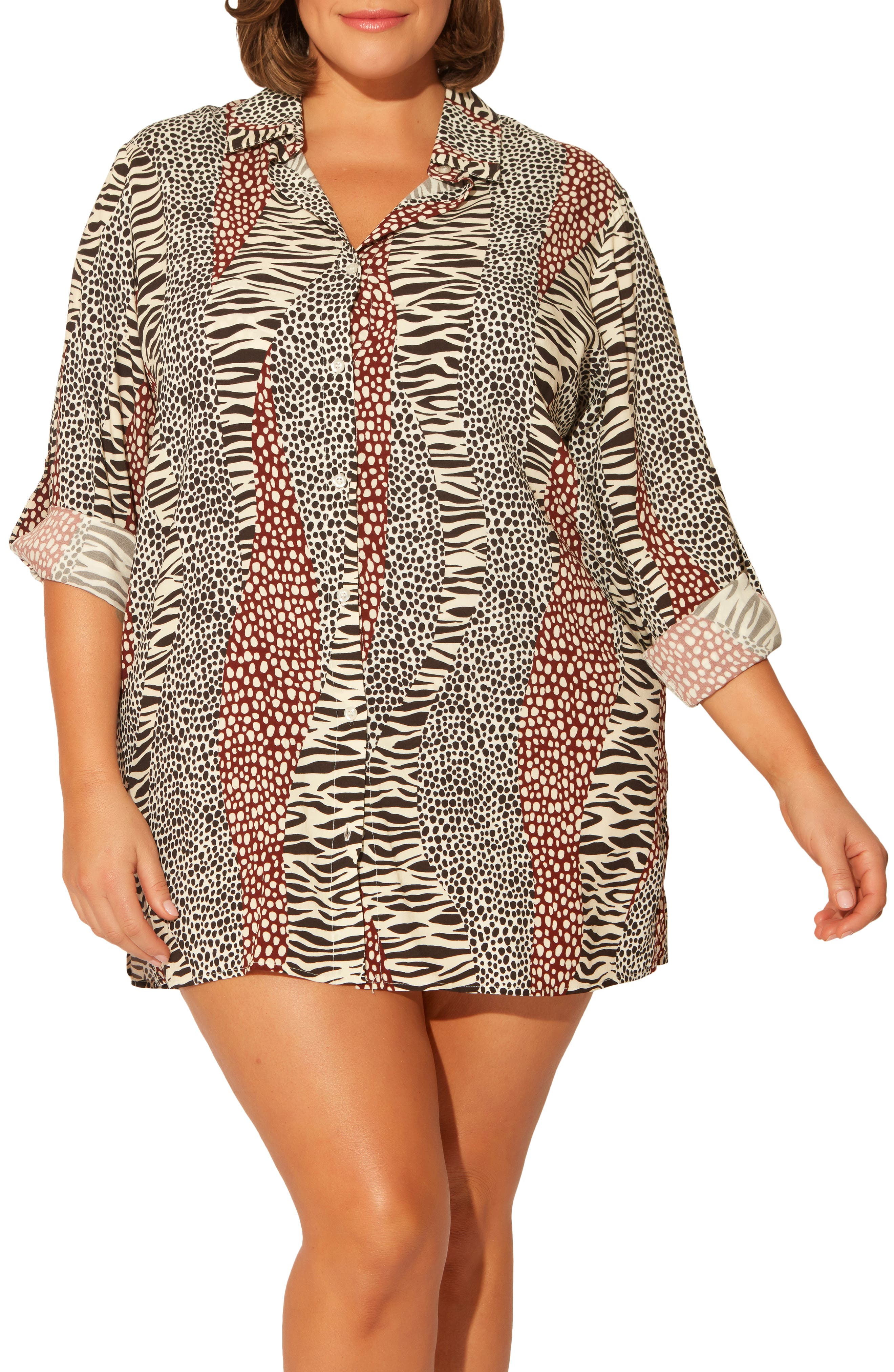 Some Like It Hot Cover-Up Shirt