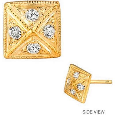 Mini Mini Jewels Diamond Icon Pyramid Earring