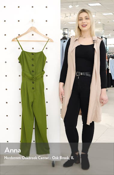 Button Front Jumpsuit, sales video thumbnail