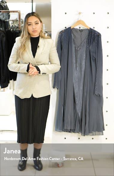 Charmeuse & Chiffon Dress & Long Jacket, sales video thumbnail