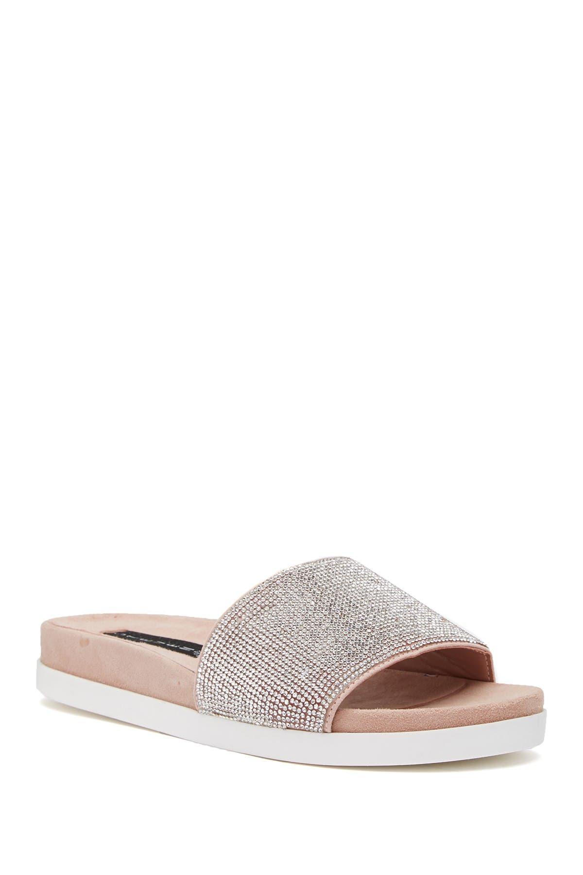 Image of Steven Sisley Embellished Slide Sandal