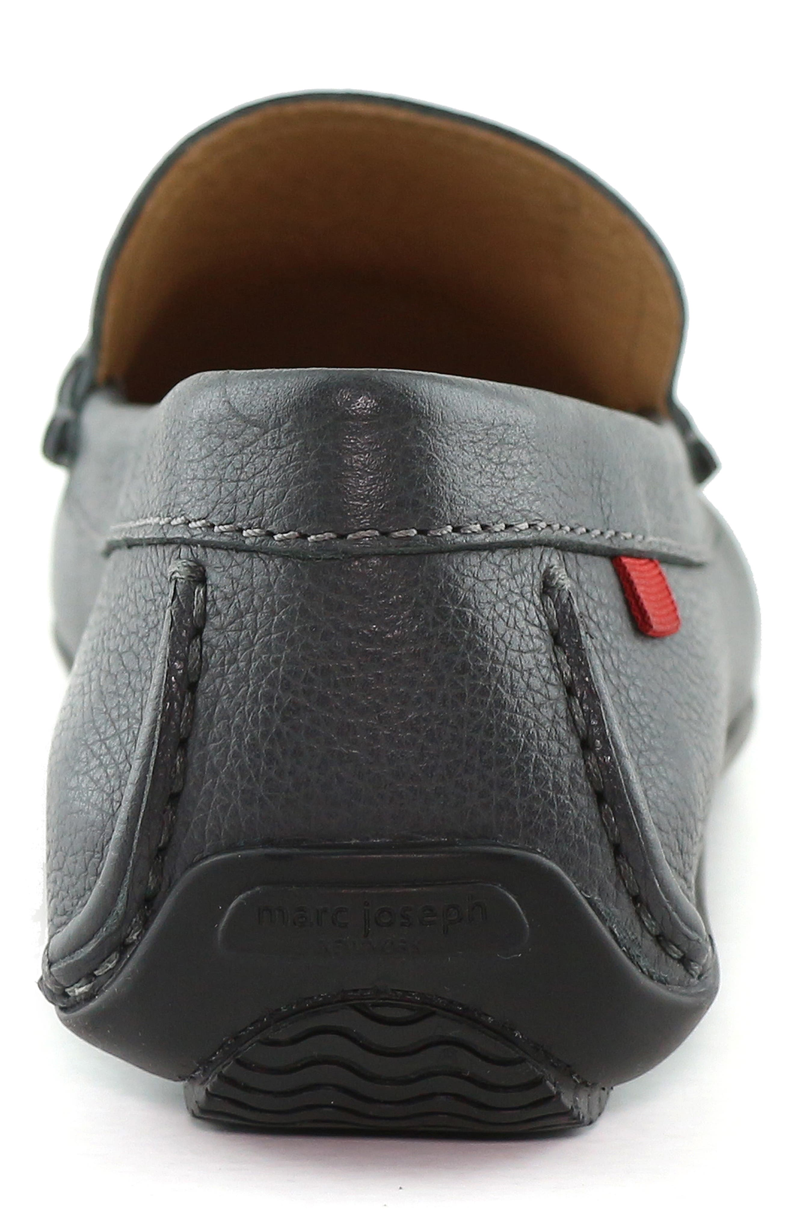 ,                             Wall Street Driving Shoe,                             Alternate thumbnail 7, color,                             GREY LEATHER