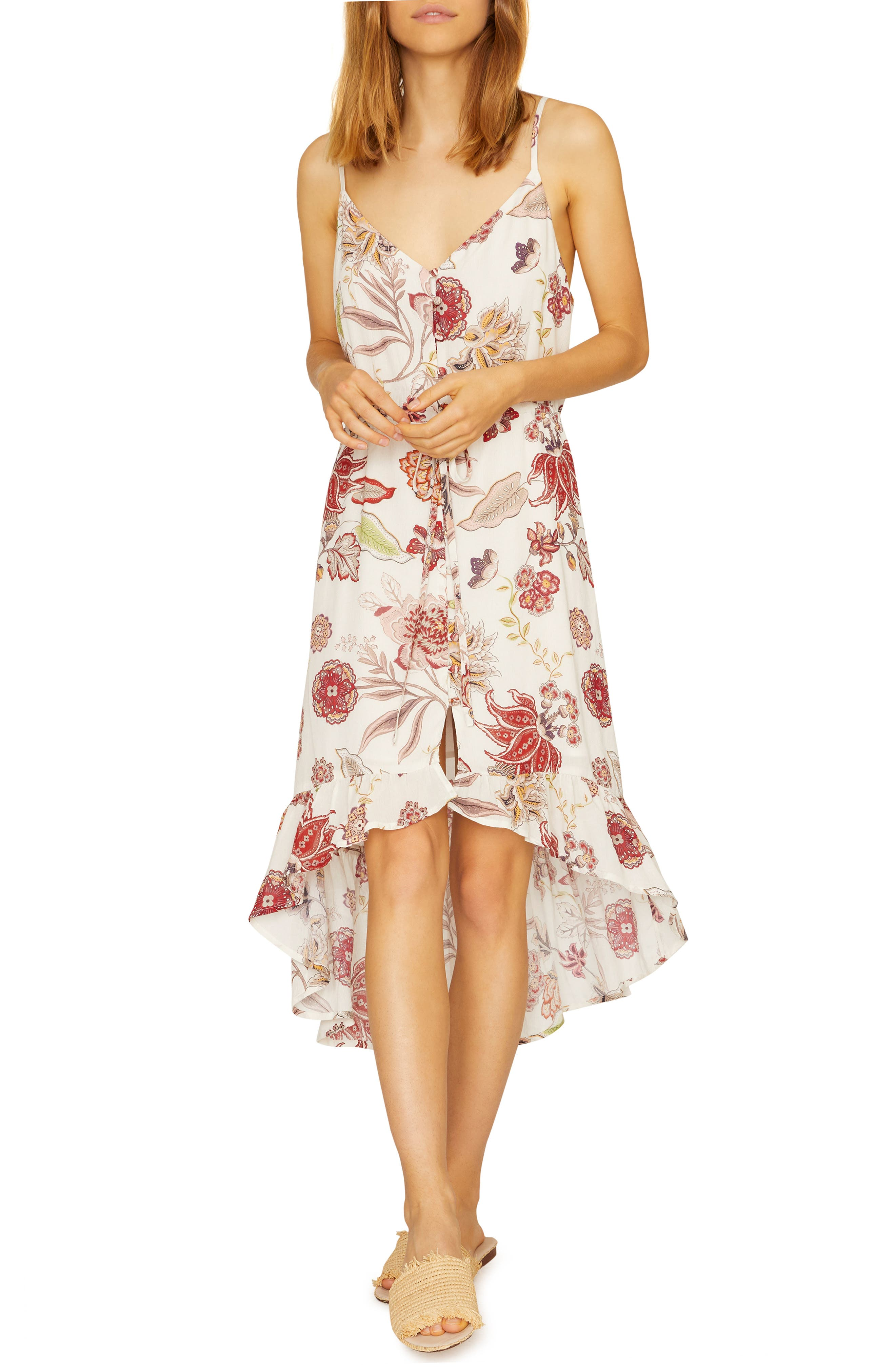 Sanctuary Palm Springs High/low Dress, Ivory