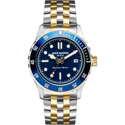 Jack Mason Diver Bracelet Watch, 42Mm
