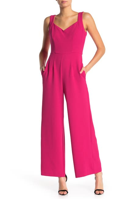 Image of Donna Ricco Sweetheart Jumpsuit