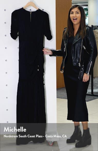 Nile Ruched Maxi Dress, sales video thumbnail