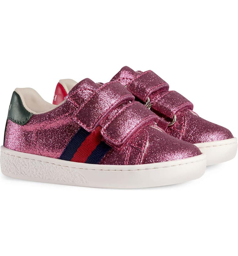 GUCCI New Ace Sneaker, Main, color, ROSE