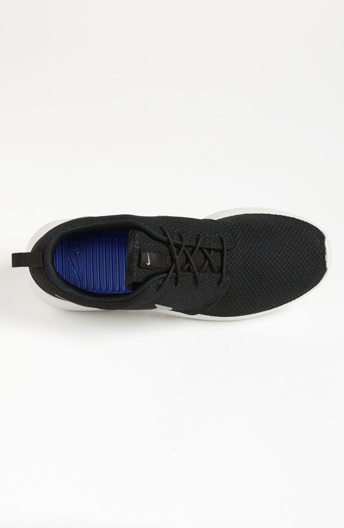 ,                             'Roshe Run' Sneaker,                             Alternate thumbnail 4, color,                             004
