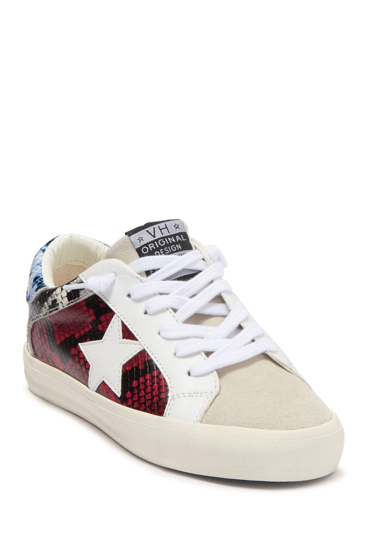 Image of Vintage Havana Second Snakeskin Embossed Patch Sneaker