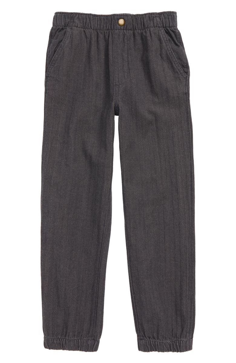 HATLEY Charcoal Mélange Jogger Pants, Main, color, GREY