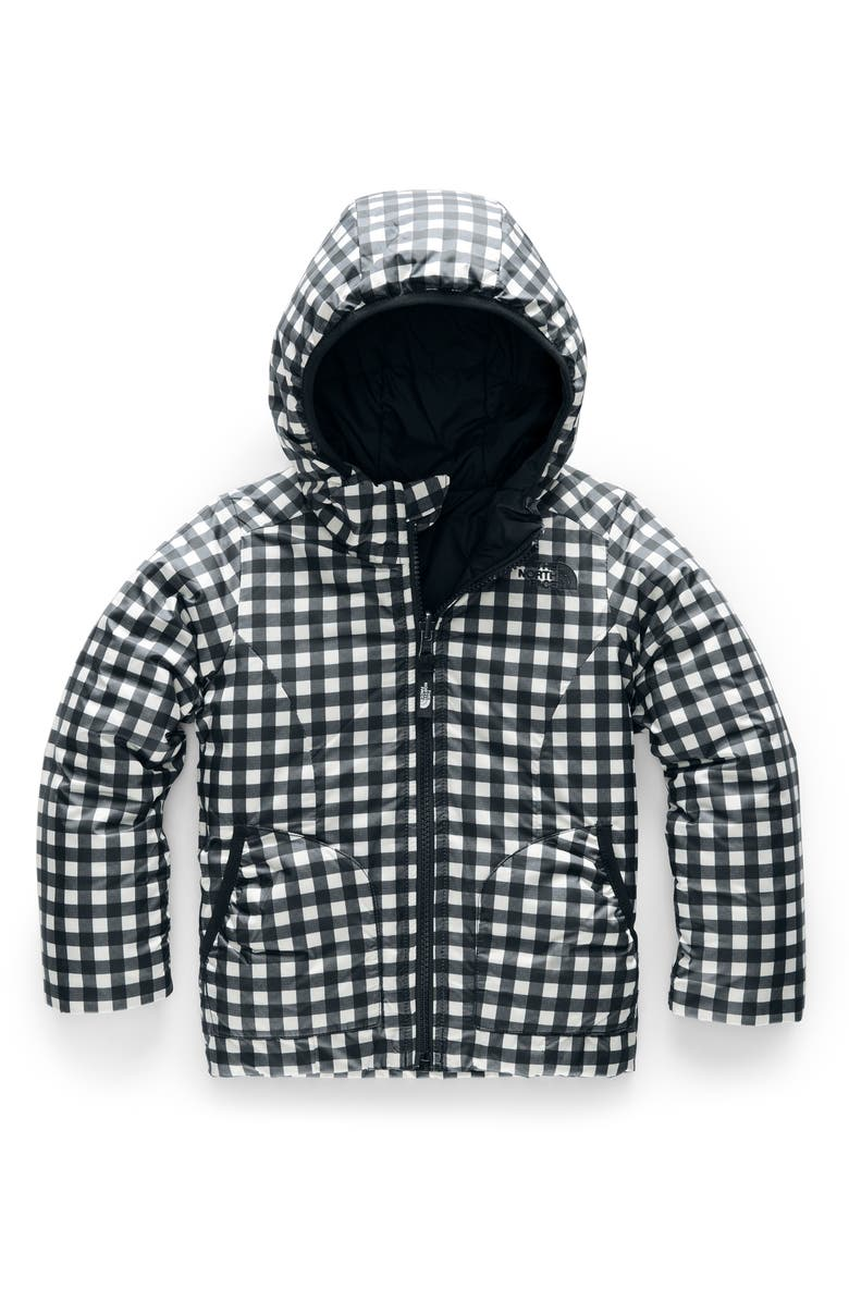 THE NORTH FACE Perrito Reversible Water Repellent Heatseaker<sup>™</sup> Insulated Jacket, Main, color, 001