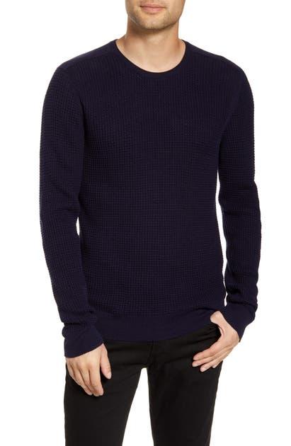 John Varvatos Sweaters DAVIDSON REGULAR FIT COTTON CREWNECK SWEATER