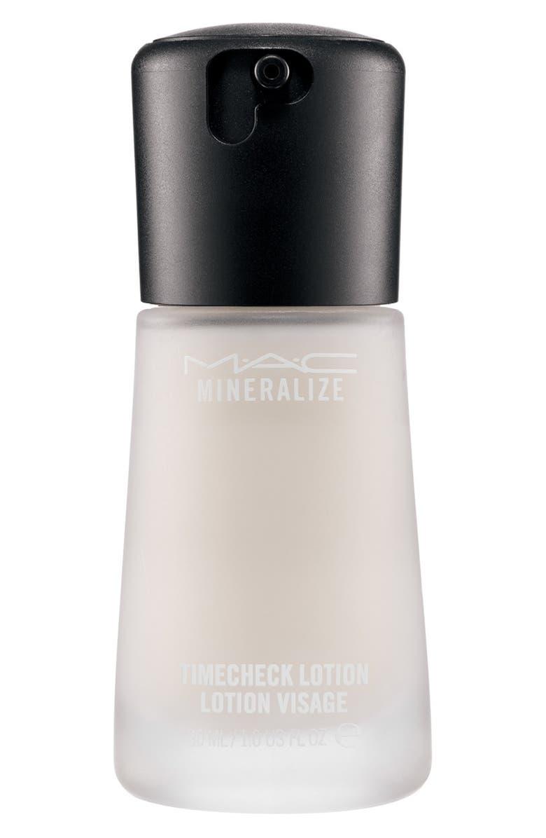 MAC COSMETICS MAC Mineralize Timecheck Lotion, Main, color, NO COLOR