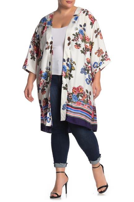 Image of DR2 by Daniel Rainn Floral Kimono