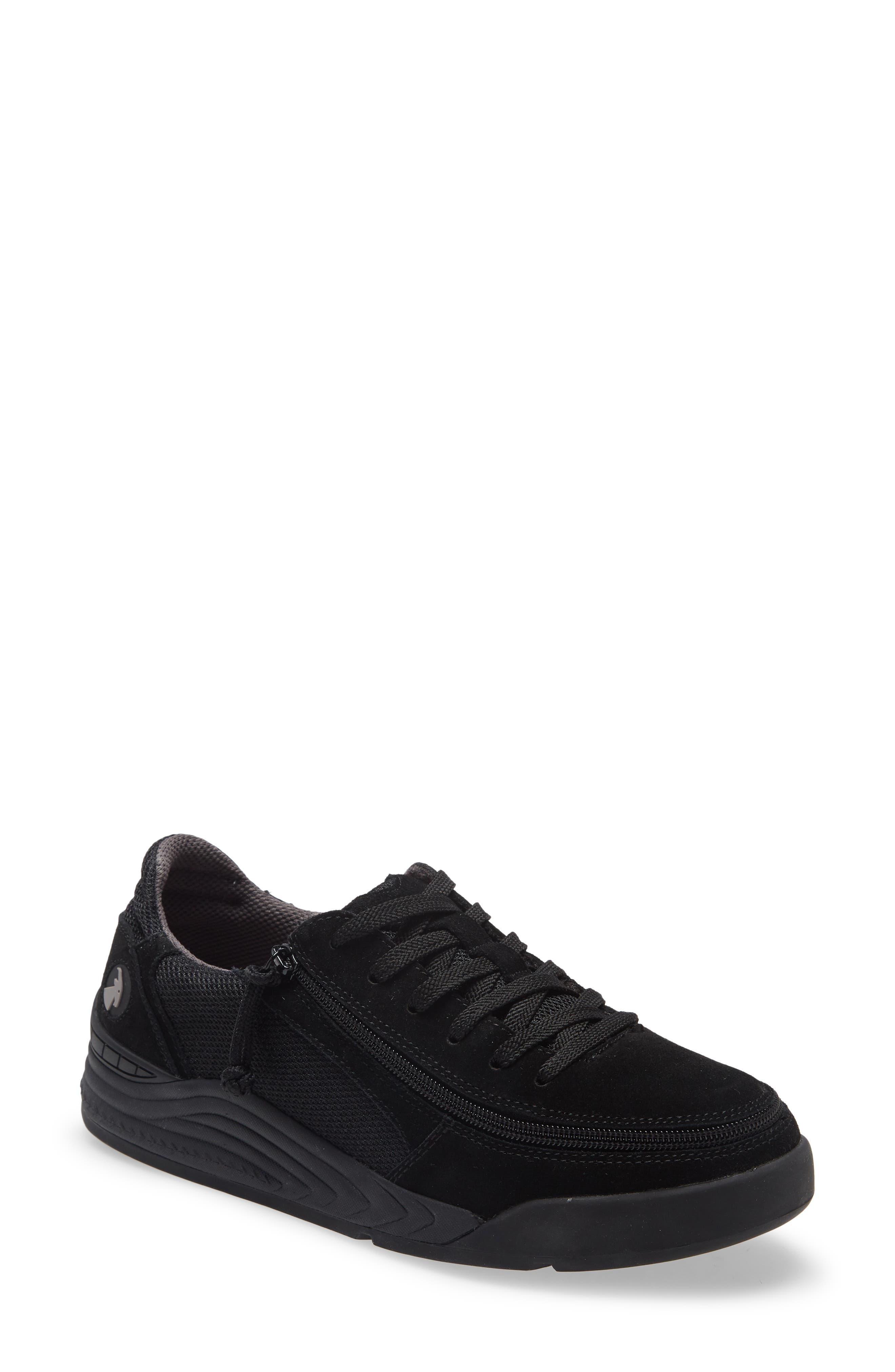 Comfort Classic Zip Around Low Top Sneaker