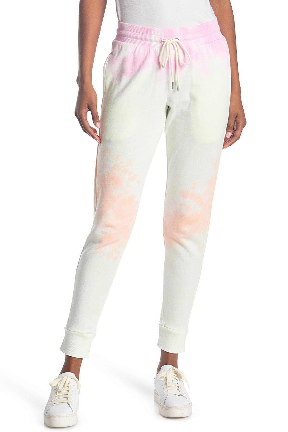 Image of 90 Degree By Reflex Brushed Tie Dye Joggers